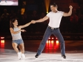 Craig Simpson and Jamie Salé perform at the Season Premiere of CBC Television's BATTLE OF THE BLADES at Toronto's historic Maple Leaf Gardens.